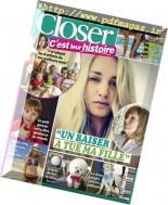 Closer C'est leur Histoire - Septembre-Octobre 2016