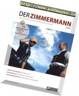 Der Zimmermann - Nr.8, 2016