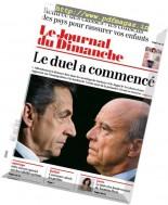 Le Journal du Dimanche - 28 Aout 2016