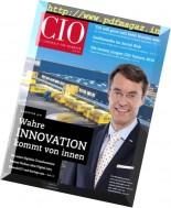CIO - IT-Strategie fur Manager - September-Oktober 2016