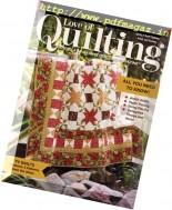 Love of Quilting - September-October 2016