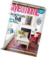 Style at Home Canada - October 2016