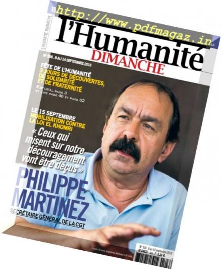 L'Humanite Dimanche – 8 au 14 Septembre 2016 - Free Full ...
