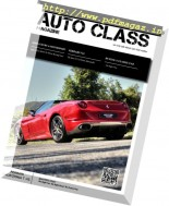 Auto Class - September 2016 (English Edition)