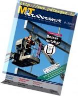 M&T metallhandwerk - Nr.9, 2016