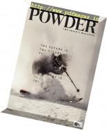 Powder - October 2016