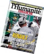 L'Humanite Dimanche - 22 au 28 Septembre 2016