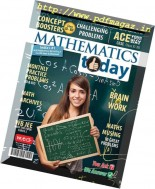Mathematics Today - October 2016