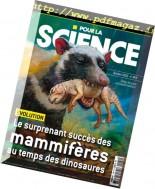 Pour la Science - Octobre 2016