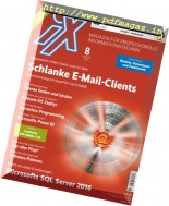 iX Magazin - August 2016