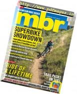 Mountain Bike Rider - October 2016