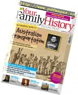 Your Family History - October 2016