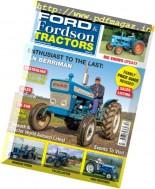 Ford & Fordson Tractors - October-November 2016