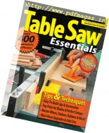 Woodsmith - Special Edition Table Saw Essentials 2008