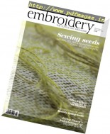 Embroidery Magazine - November-December 2016