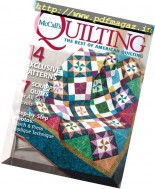 McCall's Quilting - September-October 2016