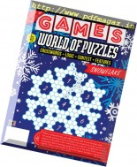 Games World of Puzzles - December 2016