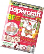 Papercraft Essentials - Issue 139, 2016
