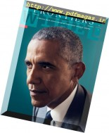 Wired USA - Frontiers - President Barack Obama - November 2016