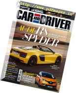 Car and Driver Spain - Noviembre 2016