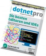 dotnetpro Germany - Oktober 2016