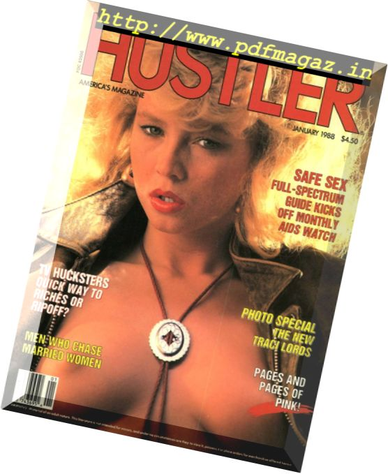 Hustler USA - January 1988