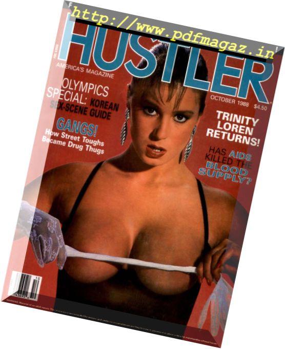 Hustler USA - October 1988