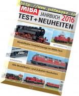 MIBA Test + Neuheiten - Jahrbuch 2016