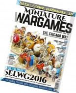 Miniature Wargames - December 2016