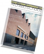 Architect's Choice - November-December 2016