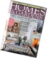 Homes & Gardens UK - January 2017