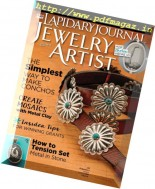 Lapidary Journal Jewelry Artist - December 2016