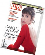 Paris Match - 1 au 7 Decembre 2016
