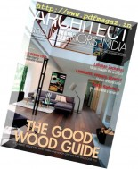 Architect and Interiors India - January 2014