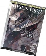 Physics Today - December 2016