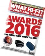 What Hi-Fi India - December 2016