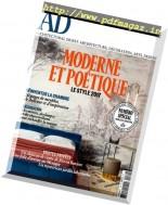 AD Architectural Digest France - Decembre 2016 - Janvier 2017