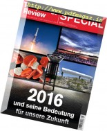 Technology Review - Special 2016