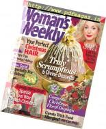 Woman's Weekly UK - 13 December 2016