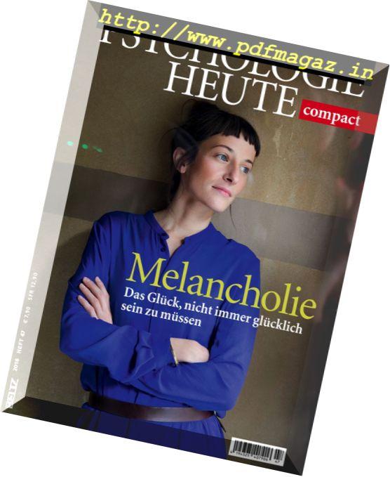Psychologie Heute Compact – Nr.47, 2016