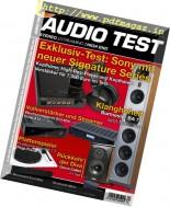 Audio Test - Nr.1, 2017