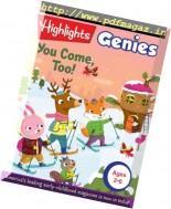 Highlights Genies - December 2016