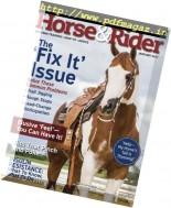 Horse & Rider USA - January 2017