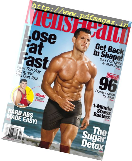 5a7d56d6296 Download Men s Health USA – January-February 2017 - PDF Magazine