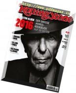 Rolling Stone Germany - Januar 2017