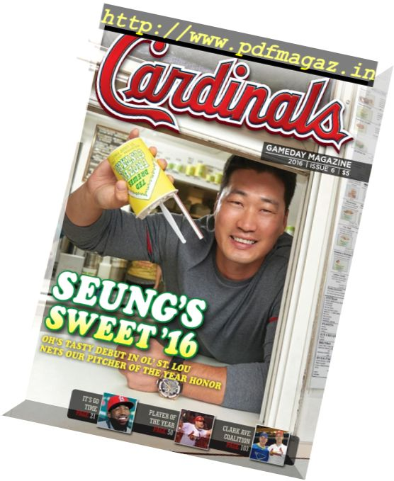 St. Louis Cardinals Gameday - Issue 6, 2016