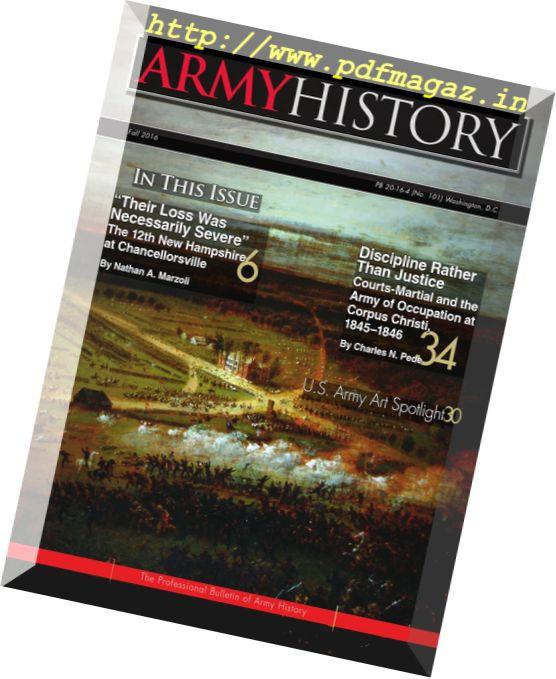 Army History - Fall 2016