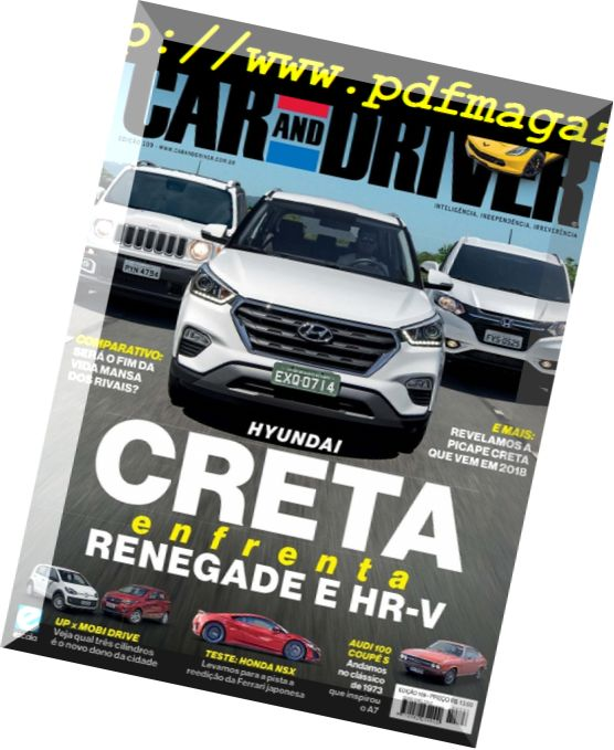 Car and Driver - Brazil  Issue 109, Janeiro 2016