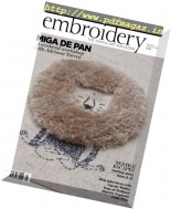 Embroidery Magazine - January-February 2017