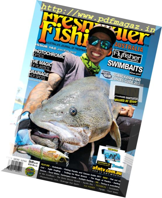Freshwater Fishing Australia - January-February 2017